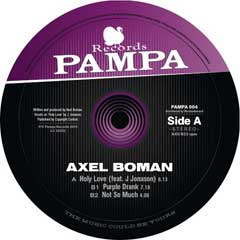 Axel Boman - Holy Love EP